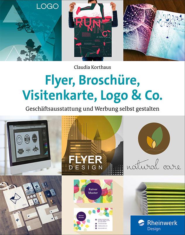 Flyer, Broschüre, Visitenkarte, Logo & Co.